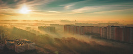 Утро в тумане / Вид из окна