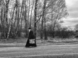 Дорогу осилит идущий / На Большом московском кольце, перекресток у деревни Наугольное iPhone 5s
