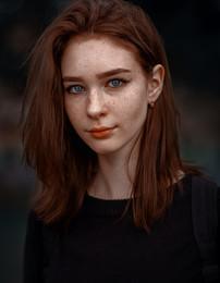 Настя / портрет