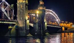 Мост Петра Великого. / Большеохтинский мост