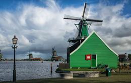 / Zaanse Schans, Северная Голандия