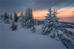 Без названия / Winter am Gaberl in der Steiermark.