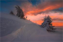 Без названия / Winterlandschaft auf der Stubalpe am Gaberl in der Steiermark.