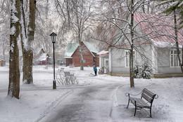 После снега чистота / Абрамцево