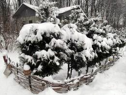 после снегопада / ***