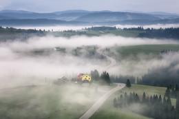 Там, за туманами... / Весеннее утро в Карпатах