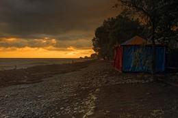 После шторма. / Черное море.