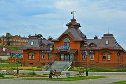 Чудо остров-град Свияжск / Свияжск - небольшой остров-село на берегу Свияги в 30 километрах от Казани.
