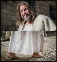 Диптих Джеймса в образе Иисуса / 2018г. Иерусалим.