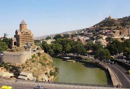 с высоты птичьего полёта / Тбилиси с высоты