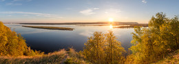 Волга в мае / р.Волга, г.Самара