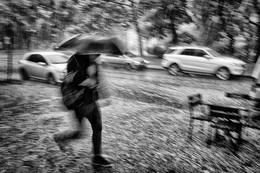 Непогода... / Дождь. Град. Непогода. Одесса.
