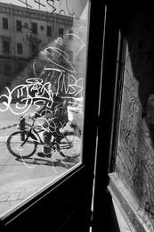 Вело- каракули / Где-то на Литейном