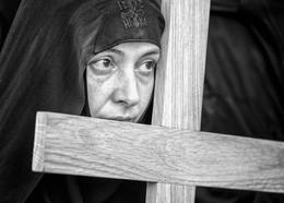 Крест... / Иерусалим, Страстная Пятница, 2018г.