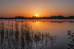 Восход солнца 2 / Раннее утро над озером