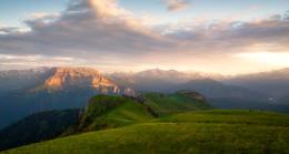 Закаты Чай - горы / Из путешествий в горы