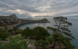 Хмурое утро / Новый Свет, Крым