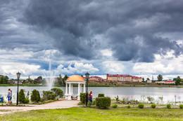 Набережная... / Город Глубокое, набережная озера Кагальное.