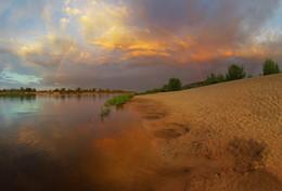 Летний вечер / после грозы