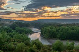 Адыгея,река Белая. / Предгорье.