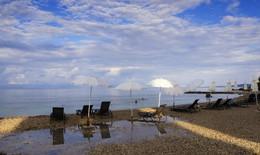 Солнечный зонтик / Вечерний пляж