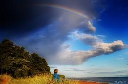 Созерцая радугу / Жизнь безусловна красива, когда начинаешь ее замечать...