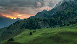 В горах Ингушетии / Горная Ингушетия