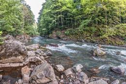 Река Киша. / Адыгея