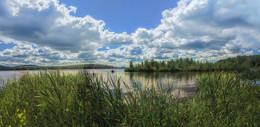 Рыбацкие места / Панорама озера