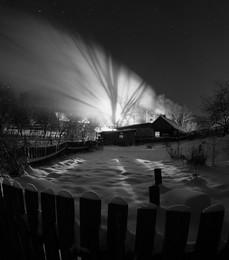 Дом, в котором живет... / зимний вечер