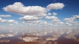 Немного о Евпатории / Соленое озеро между Евпаторией и Саками