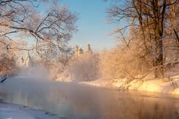 Зимнее утро / Истра 2018