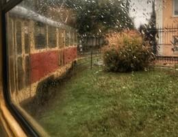 Запах осени / октябрь, трамвай, дождь