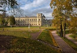 Запах осени / гатчинский парк,дворец