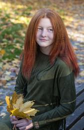 Осенняя девочка... /