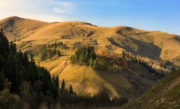 Осень на холмах / Где-то в горах