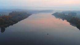 На утренней зорьке / Петровичское водохранилище возле М1