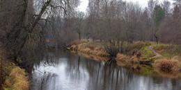 Поздняя осень / Краски уже не те. деревья обнажились. Серое небо. Постоянно срывающийся дождь. Но у природы нет плохой погоды....