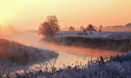 Рассветный туман / Морозное утро