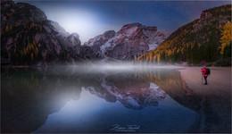 Без названия / Morgens am Pragser Wildsee