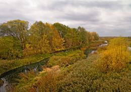 Река Теша. / Арзамас. Нижегородская область.