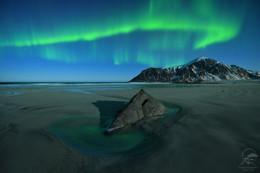 Skagsanden beach / Норвегия