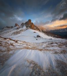 Перевал Passo Giau / Италия