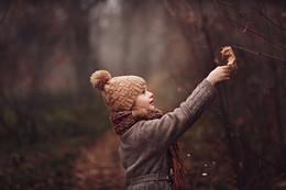 Последний ноябрьский листок / Девочка и ноябрь