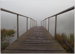 Туманная перспектива / Мостик в никуда. На Тохколодском озере.