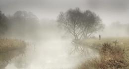 В тумане / На Свислочи