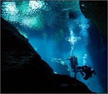 Cave / Mexico, Chikin Ha Cenote подводный пейзаж