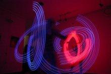 Neon fireshow / Адкрыцьцё выставы Тэхна-Арт