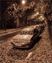Ночь в городе... / После дня рождения фотоклуба... Снято в 3:30 ночи (утра)...