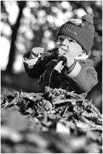 Вкус осени / мальчик-крот  для сравнения цветная версия http://photoclub.by/work.php?id_photo=87929&id_auth_photo=30#t